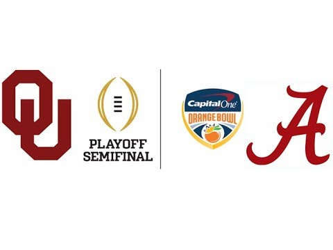 2018 Orange Bowl, #4 Oklahoma vs #1 Alabama (Highlights)