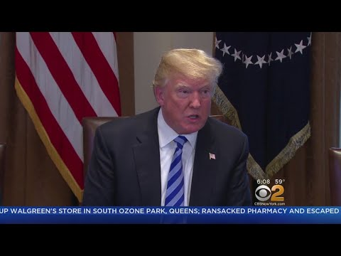Trump Travels To Long Island To Talk MS-13