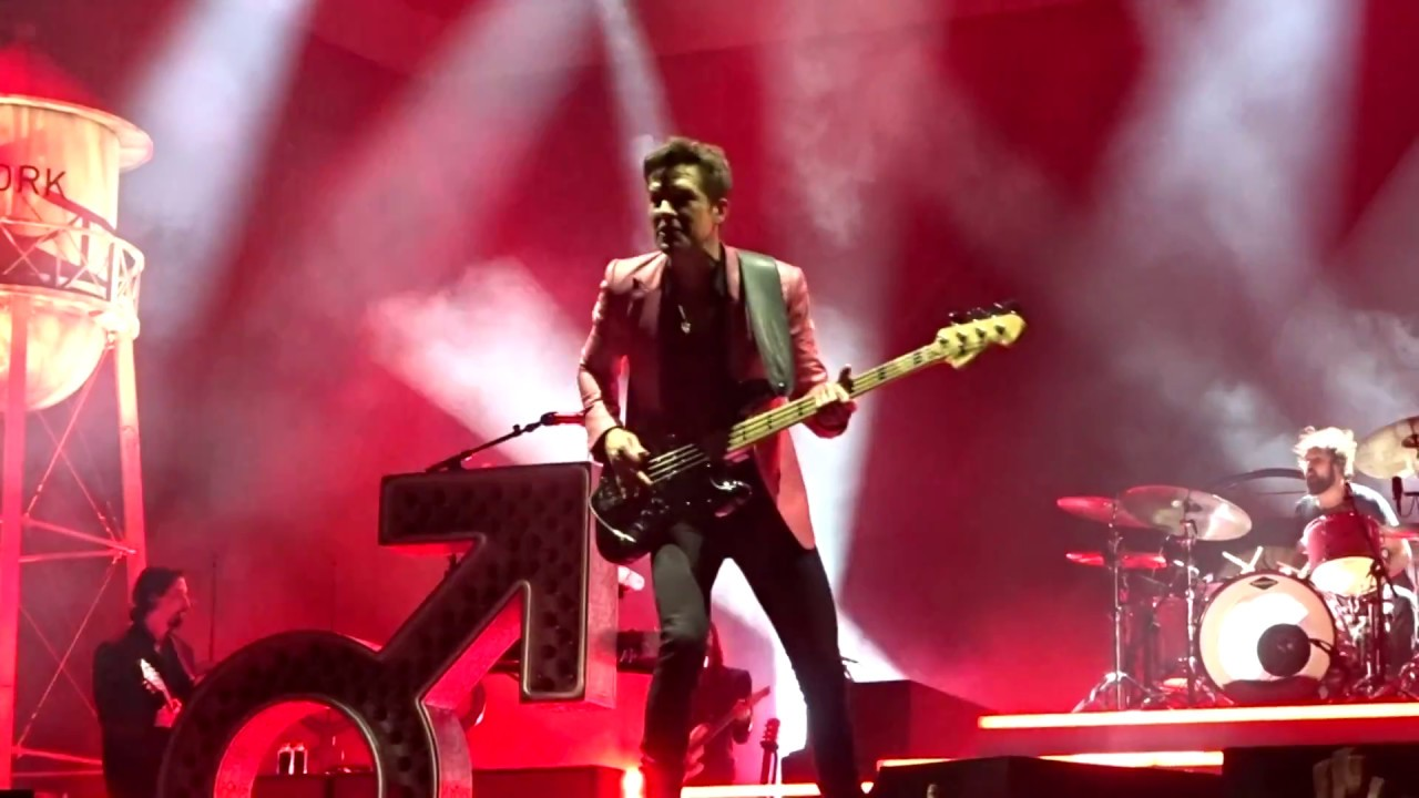 The killers for reasons unknown madison square garden nyc 1 12 18 youtube The killers madison square garden
