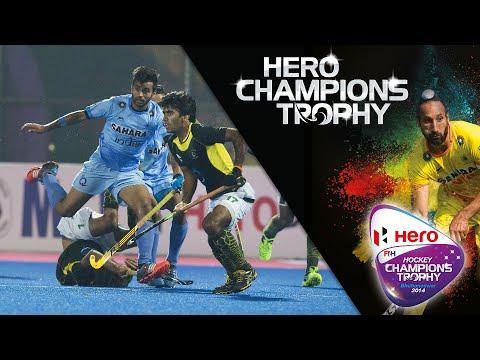 4489acedb India vs Pakistan - Men s Hero Hockey Champions Trophy 2014 semi final 2.  India  13 12 14  - YouTube