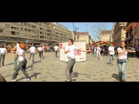 Flashmob Valenciennes Place d'Arme
