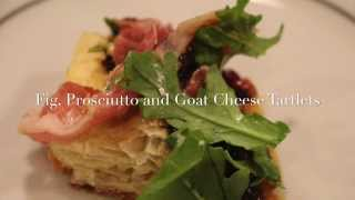 Holiday Party - Prosciutto And Goat Cheese Tartlets