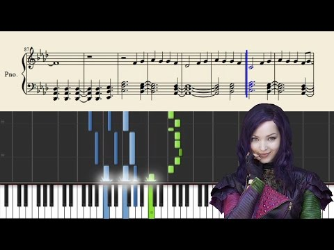 Dove Camer  Genie In A Bottle Disney  Piano Tutorial + Sheets