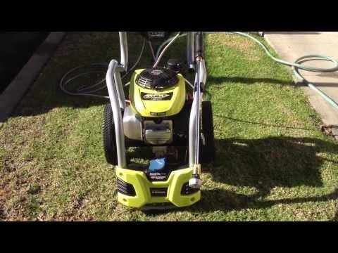 Ryobi 2800 Psi Gas Pressure Washer With Honda Engine Doovi