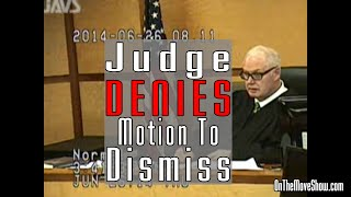 Judge Denies Motion To Dismiss! | Open Carry Trial PT #26 | OnTheMoveShow