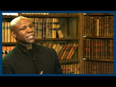 Chris Eubank | Full Address | Oxford Union