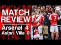 Arsenal v Aston Villa 4-0 | 2015/16 | Match Review
