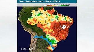 Chuva no BR até o começo de maio de 2017