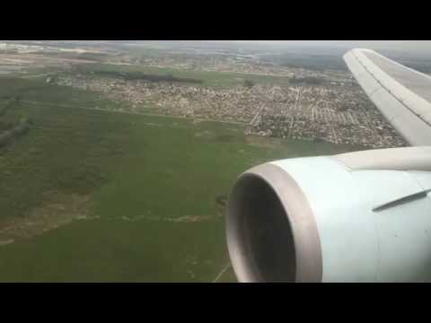 AC92 SCL-EZE Air Canada Business Class Santiago to Buenos Aires Boeing 767 GoPro 4K