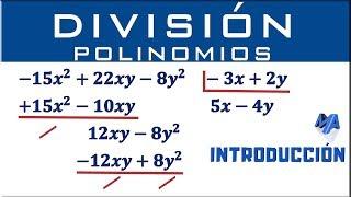 División de polinomios | Introducción