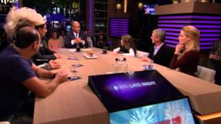 Amira Willighagen - Part 1 of 5 - Interview Late Night Show - 2013