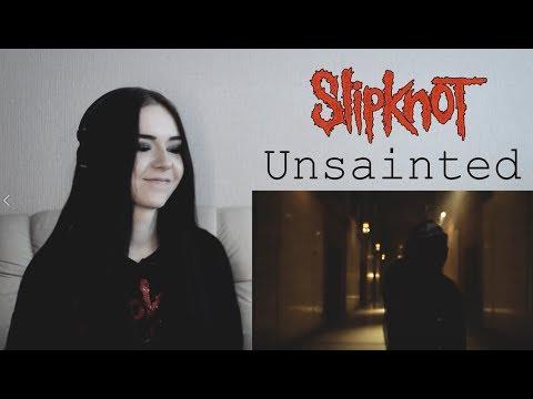 Slipknot - Unsainted [Реакция / Reaction] (Eng Subs)