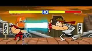 Chuck Norris VS Ryu - Street Fighter