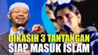 HINDU WOMAN READY To ACCEPT ISLAM If DR. ZAKIR CAN ANSWER 3 QUESTIONS