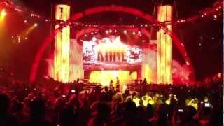 WWE Summerslam 2012 Kane Entrance (Live!)