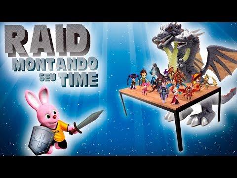 TUDO SOBRE RAID- FINAL- MONTANDO SEU TIME!!!