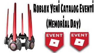 Roblox Yeni Catalog Eventi / Roblox Yeni Memorial Day Event Eşyaları Geldi!!
