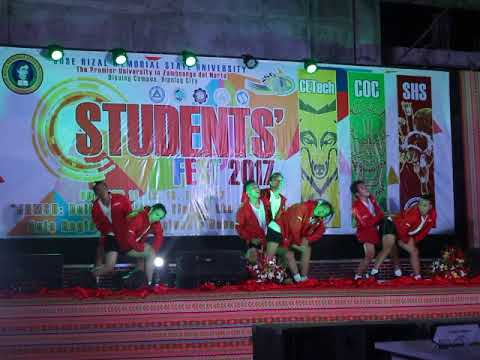 Hiphop Competition 2nd Place  - JRMSU Dipolog Campus (Arts & Sciences)