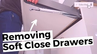 How To Remove Soft Close Kitchen Drawers - NEW Kitchens 2019 - 2020 screenshot 2