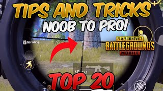 Top 20 Tips and Tricks in PUBG MOBILE for beginners (FROM NOOB TO PRO) GUIDE screenshot 5