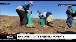 Ex-combatants from liberation movements fight poverty