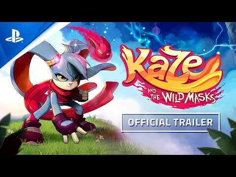 Kaze and the Wild Masks - Launch Trailer | PS4