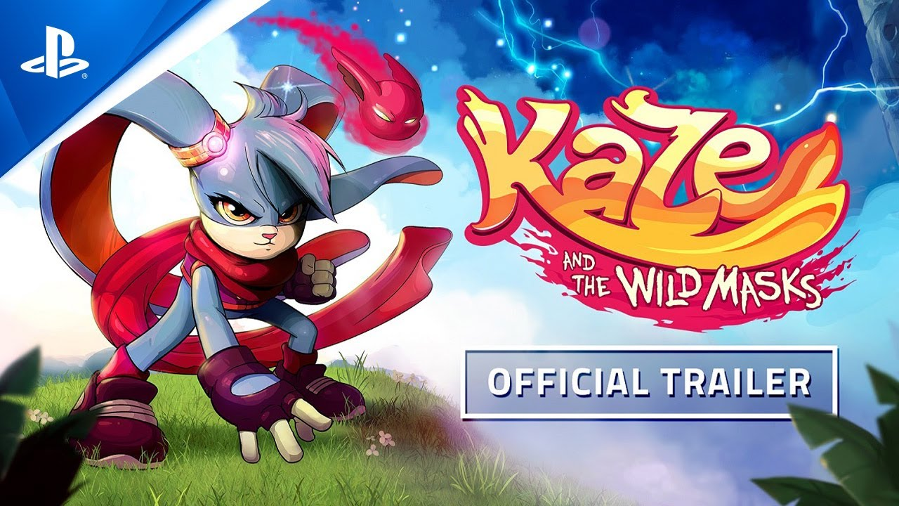 Kaze and the Wild Masks — Launch Trailer | PS4