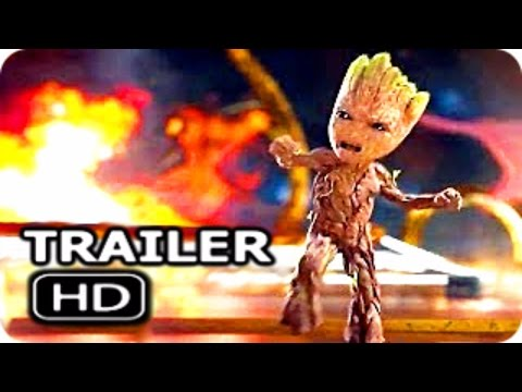 "Thumbnail: GUARDIANS OF THE GALAXY 2 ""Angry Baby Groot"" Trailer + NEW Clip (2017) Chris Pratt Action Movie HD"