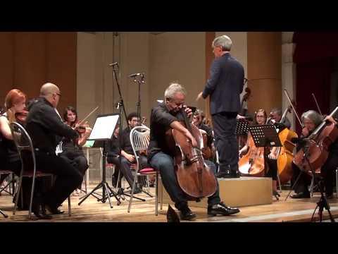 Luigi Boccherini: I°tempo from Concerto n°3. G. Sollima, cello; G. Mazzoli, conductor.