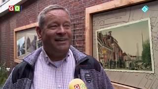 Fotopanelen in centrum Winschoten