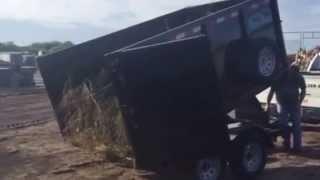 Vista Clean Junk Removal - dump trailer