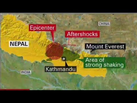 Why is Nepal at risk for major earthquakes?