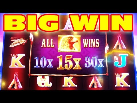 SO MANY BIG WINS ★ ONE OF MY FAVORITE SLOTS ★ RED EAGLE