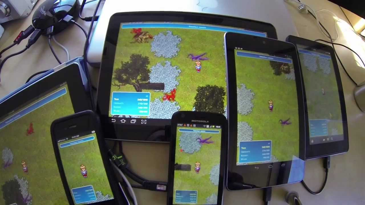 PhoneGap Legends – A Sample Game App - DZone Web Dev
