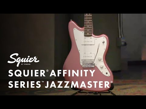 Exploring The Squier Affinity Series Jazzmaster | Fender