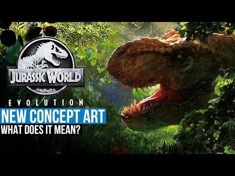 JURASSIC WORLD EVOLUTION NEW CONCEPT ART | Jurassic World: Evolution Speculation