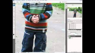 Урок Photoshop #25   Размытие заднего фона