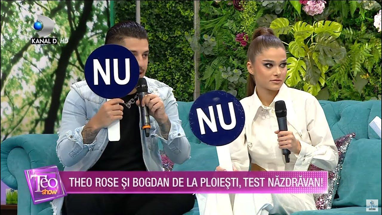 Teo Show (29.04.2021) - Theo Rose si Bogdan de la Ploiesti, test nazdravan cu intrebari deocheate