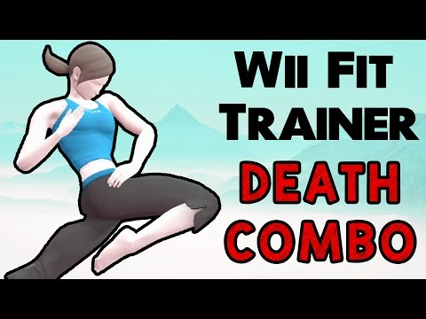 Wii Fit Trainer Death Combo! (Smash Wii U/3DS)