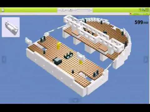 The Making Of Lego Titanic Ldd Youtube