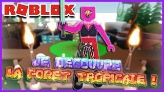 JE DÉCOUVRE LA FORET TROPICALE ! | Roblox Unboxing Simulator