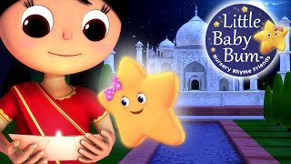 Twinkle Twinkle Little Star | Part 3 in India | Nursery Rhymes | by LittleBabyBum