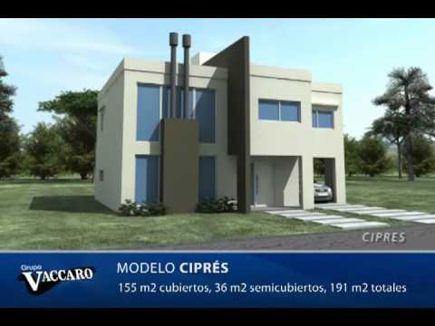 Grupo vaccaro proyectos casas para barrios privados for Proyectos casas minimalistas