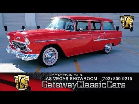 1955 Chevrolet Bel Air Wagon Stock: #32-Las Vegas