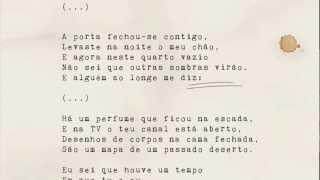Pedro Abrunhosa - 'Não Desistas de Mim'. Álbum 'Longe' - Vídeo Letra   Video Lyrics