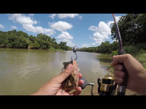 A Hot Day Fishing On The Brazos River