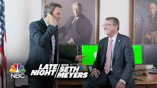 Seth Visits the Pentagon