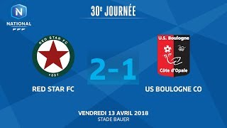 Red Star vs Boulogne full match