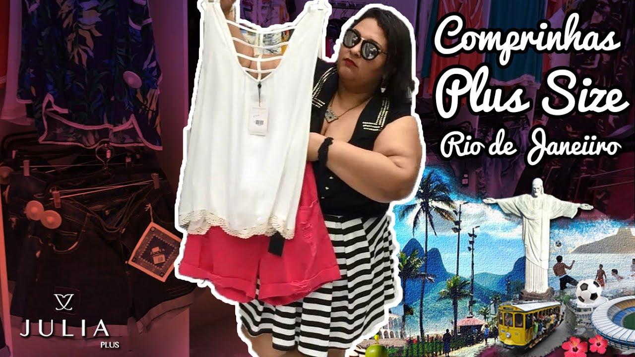 4362146f9 Comprinhas Plus Size - Júlia Plus Rio de Janeiro - YouTube
