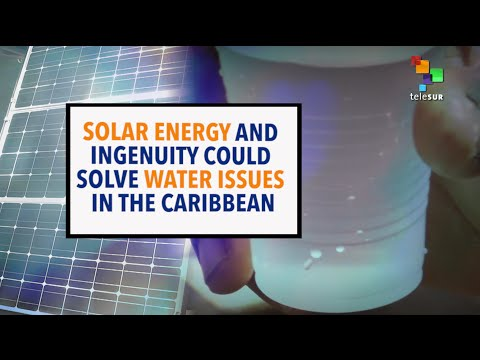 1st Solar-Powered Desalination Facility in the Caribbean